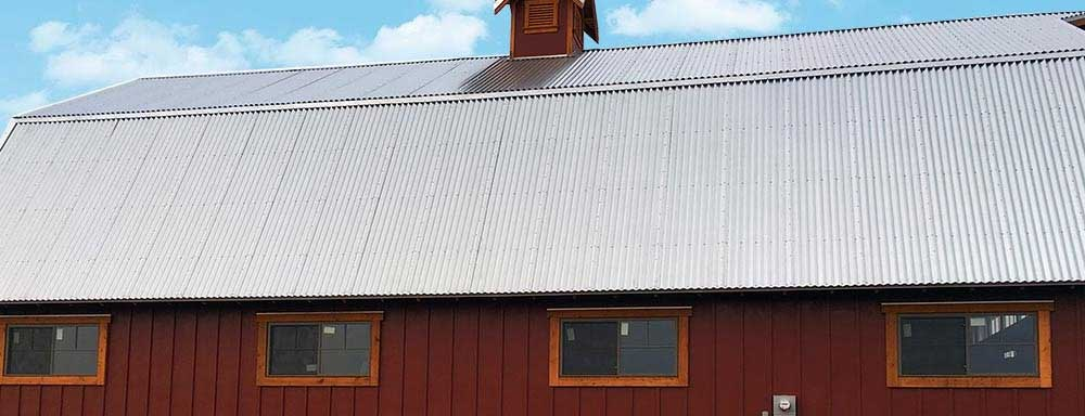 Corrugated Pole Barn Steel